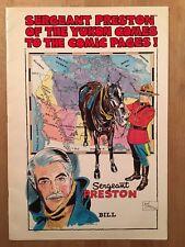 Sergeant Preston - Rare livret publicitaire US - 1982 - 20 pages - TBE