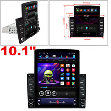 Android 8.1 Single Din 10.1in Car Stereo Radio GPS Wifi OBD2 Mirror Link Player
