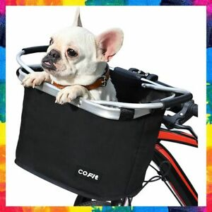 BIKE BASKET Carrier Bicycle Handlebar Front Pet Shopping Commuter Camping COFIT