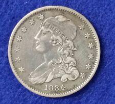 1834 Bust Quarter - Extra Fine Details