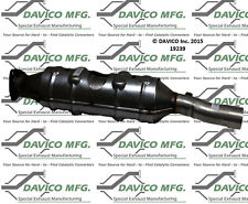 Catalytic Converter-Exact-Fit Rear Davico Exc CA 19239
