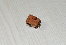Exclusive wooden body for Benz Micro GOLD CARTRIDGE TESTINA Mahogani Wood