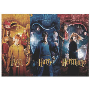 Ron, Harry and Hermione Harry Potter 1000 piece puzzle / movie poster, jigsaw