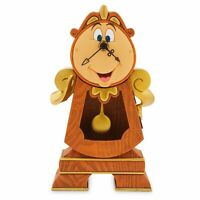 Disney Parks Exclusive Beauty and the Beast Cogsworth Clock