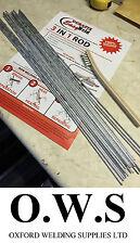 20 x de Aluminio de Soldadura Soldadura Soldadura Baja Temperatura Durafix Easyweld + Varillas + Pincel