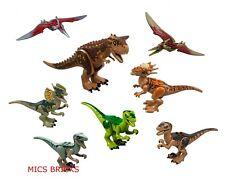 LEGO - Jurassic World Dinos - Lot of 8 Dinosaurs from 2018 Jurassic World sets