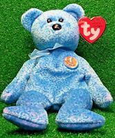 MWMT CLASSY The People's Bear 2001 TY Beanie Baby RETIRED NEW Teddy Plush Toy