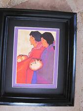 Amado Pena Native American Yaqui Artesanos Framed Matted Print