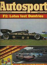 AUTOSPORT AUG 16th 1984 * Bernd Rosemeyer & Fuji F 2 *