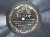 Homer Rodeheaver Brighten The Corner / Walk With King 1915 Victor E- 17763 Jazz