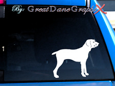 Pudelpointer -Vinyl Decal Sticker -Color Choice -High Quality
