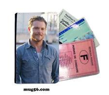 clayne crawford 01-05 étui pochette carte grise carte d'identité permis