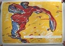 Carlos Gorriarena Serigraphy 169/200 & Signature 1984