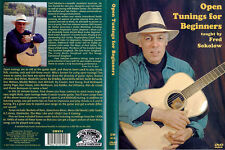 Fred Sokolow Open Tunings For Beginners Learn to Play Guitar Music DVD