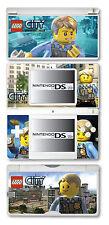 Lego City Undercover Vinyl Skin Sticker for Nintendo DS Lite