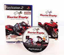 PLAYSTATION 2 TOURIST TROPHY Istruzioni & conf. orig. / PS2 GIOCO DI CORSA