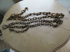 2 Vintage Rusty 7 ft. Barn Chains