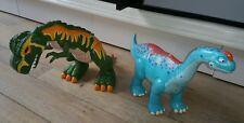 lot 2 grands dinosaures TOMY + FISCHER PRICE TBE FONCTIONNE PARFAITEMENT