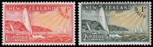 New Zealand Scott B38-B39 (1951) Mint LH VF M