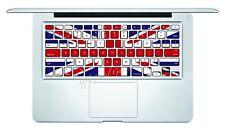 UK Flag Macbook Pro Air Keyboard Decal Sticker Skin 13 15 17 inch Wireless UK