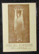 "SPIRIT Avalon Ballroom 4.5x6.5"" Family Dog #134 Concert Post Card FVF 7.0"