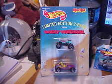 1992 Hot Wheels KOOL-AID L.E.  2 Pack Wacky Warehouse Jeep & Quad Racer