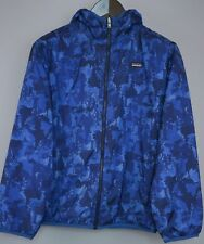 Mujer Patagonia Chaqueta Azul Senderismo Camping Exterior Impermeable M UK12 e512f078ac70