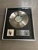 Genuine Fleetwood Mac Rumours Platinum Record