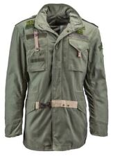 Alpha Industries 50th Anniversary Limited M-65 Olive Field Coat Men's Jacket