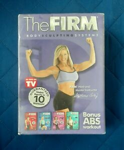 The Firm Body Sculpting System 2 4 Pack DVD 2003 4 Disc Set New Aerobic Fitness