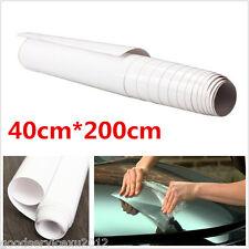 40cmX200cm DIY Autos Vehicle Bumper Edge Protector Anti-Scratch Film Vinyl Sheet
