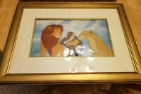 Disney Cel The Lion King Family Pride Rare Animation Art Edition Cell