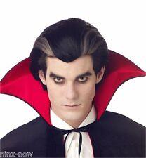 Modern Vampire Dracula Gothic Halloween Men's Fancy Dress Costume Wig