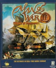 MAN OF WAR II 2 CHAINS OF COMMAND Naval Combat Sim PC NEW