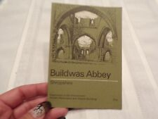 Collectible Travel Brochure Buildwas Abbey