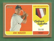 JOE MAUER 2018 Topps Heritage Clubhouse Collection 5 Color Game-Used Patch #d/99