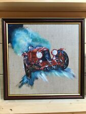 Aston Martin Ulster Goodwood Revival original oil painting new from artist