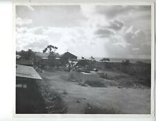 1946 Guam Original Photo Vintage Garbage Dump Around Chapel 8X10