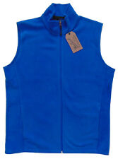Men's WOOLRICH Bright Blue Andes Fleece Vest Medium M NWT NEW Nice!