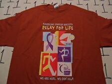 Large- NWOT American Cancer Society T- Shirt
