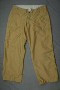 Prana USA Made Lightweight Relaxed Fit Crop Hiking Pants. Women's Size S, EUC!!