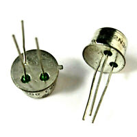 2 x 2N3053 NPN TRANSISTOR 40V 0.7A 5W NATIONAL SEMICONDUCTOR Lot of 2 NEW NOS
