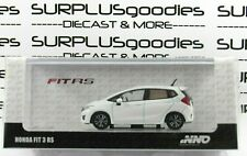 INNO64 1:64 Scale 2019 Release White HONDA FIT 3 GK5 RS w/Decal & Extra Wheels