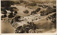 BLENHEIM - Oxfordshire - Aerial View - 1935 Original Postcard (HCAR)