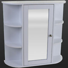 Bathroom Storage Unit Cabinet White Shelves Glass Under Sink Basin Unit Wooden