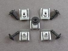 40 Teile Unterfarschutz Motorschutz Clips Schraube für Audi A4 A5 A6 A7