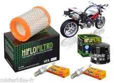 Pack Révision Filtre à Huile/Air Bougie Ducati 696 Monster 2009-2014