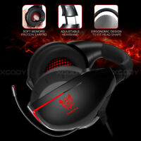7.1 Dolby Surround Gaming Headset w/Mic for PC Xbox one X Nintendo Switch PS4
