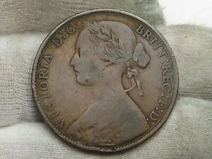1861 No Signature Type One Penny Great Britain.  #45