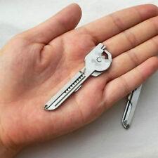 Multi Tool Stainless steel Screwdriver Opener 6 in1 Utili-Key Keychain Keyring F